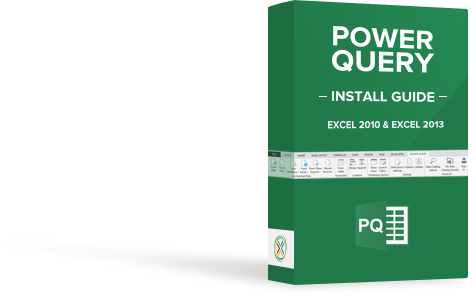 Power Query Install Guide